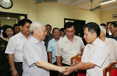 Le chef du Parti souligne la lutte contre la corruption