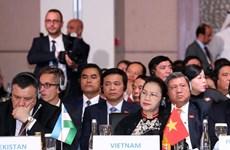 La présidente de l'AN vietnamienne assiste à la cérémonie d'ouverture de MSEAP 3