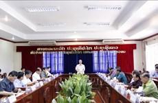 La délégation vietnamienne de haut rang en visite de travail à Vientiane