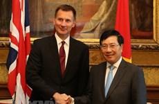 Activités du vice-PM Pham Binh Minh au Royaume-Uni