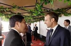 Le vice-PM Pham Binh Minh au Sommet de la Francophonie