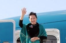 La présidente de l'AN termine sa venue à la MSEAP 3 et sa visite en Turquie