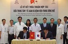 L'Hôpital central de Huê et le sud-coréen ASAN coopèrent sur la greffe de foie