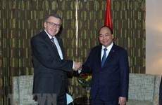 Le PM Nguyên Xuân Phuc rencontre l'ancien ministre belge des Affaires étrangères Steven Vanackere