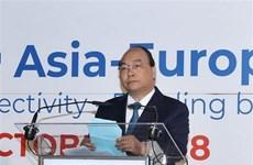 Le PM Nguyên Xuân Phuc plaide pour des liens renforcés entre l'Asie et l'Europe