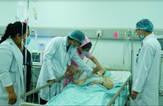 Hôpital Cho Rây de Phnom Penh, ouvrage d'amitié Vietnam - Cambodge