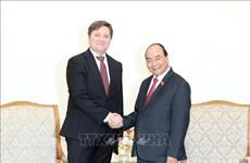 Le Premier ministre Nguyen Xuan Phuc reçoit l'ambassadeur polonais