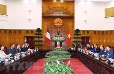 Le Vietnam et la France soulignent leur détermination à promouvoir le partenariat stratégique