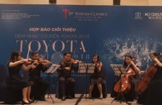 Toyota Classics 2018 donne le la à Hô Chi Minh-Ville