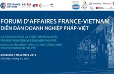 Forum d'affaires France-Vietnam à Ho Chi Minh-Ville