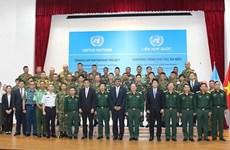 Le Vietnam organise un cours de formation de sapeurs de maintien de la paix de l'ONU