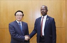 Parti : renforcement de la coopération entre Vietnam et Soudan