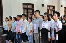 Peines confirmées dans le procès pour troubles à l'ordre public à Dông Nai