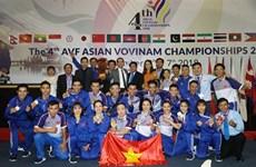 Le Vietnam toujours au top du 4e Championnat asiatique de vovinam