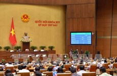 La 4e semaine de travail de la 6e session de l'Assemblée nationale (14e législature)