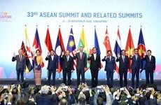 Le Premier ministre Nguyen Xuan Phuc participe à la séance plénière du 33e sommet de l'ASEAN