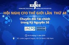 Le 48e Congrès mondial de l'IAFEI s'ouvre à Hô Chi Minh-Ville