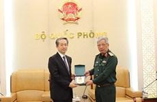 Les liens de défense, l'un des piliers importants des relations Vietnam-Chine