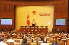 Dernière journée de travail de la 6e session de l'Assemblée nationale