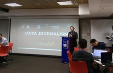 Un atelier de formation sur le journalisme de données à Hanoï