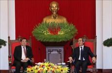 Un responsable du PCV affirme l'importance des liens Vietnam-Chine