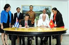 Le Comité intergouvernemental Vietnam-Cuba clôt sa 36e session