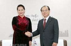 La présidente de l'AN plaide pour le partenariat stratégique Vietnam-R. de Corée