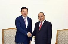 Le PM demande à Lotte de soutenir les start-up vietnamiennes