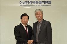 La visite du vice-PM Trinh Dinh Dung en R. de Corée est couronnée de succès