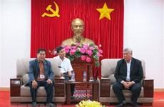 Binh Duong accueille une délégation cambodgienne