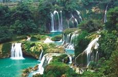 À Dà Lat, chutes d'eau en cascades