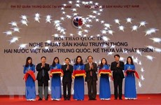 Vietnam et Chine partagent leur expérience dans la promotion de l'art scénique traditionnel