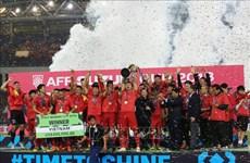 AFF Suzuki Cup 2018: L'équipe nationale de football comblée de récompenses