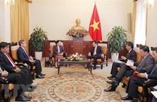 Le vice-PM Pham Binh Minh au Laos, les liens bilatéraux au beau fixe