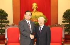Promotion de la cooopération entre les Partis communistes du Vietnam et du Japon
