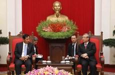 La délégation de l'USDP du Myanmar en visite au Vietnam