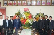 Le président du Comité populaire de Hanoi adresse ses vœux de Noël aux catholiques de la capitale