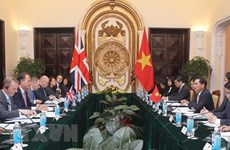 Le Vietnam et le Royaume-Uni tiennent leur consultation politique