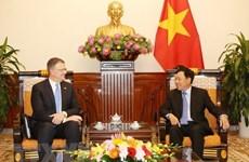 Le vice-PM Pham Binh Minh reçoit l'ambassadeur des Etats-Unis