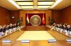 Renforcement de la coopération parlementaire Vietnam-Hongrie