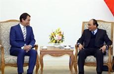 Le PM reçoit le président de la Fédération manufacturière de Singapour