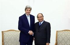Le Premier ministre reçoit des hôtes américains