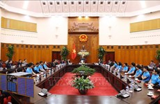 Le PM s'engage à créer les conditions optimales pour le développement des technologies spatiales