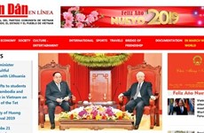 Inauguration de la version espagnole du Journal Nhân Dân en ligne