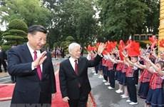 Les dirigeants vietnamiens et chinois échangent leurs voeux pour le Nouvel An