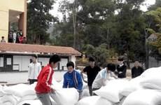 Le gouvernement accorde 3.718 tonnes de riz à six provinces pour le Têt
