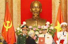 Deux responsables de la Police et de l'Armée promus généraux