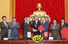 Le Vietnam et la R. de Corée signent un accord de coopération contre la criminalité transnationale