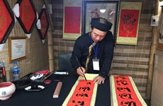 Hanoï: ouverture de la Fête de la calligraphie 2019