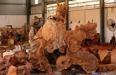 La sculpture sur bois de Dông Giao